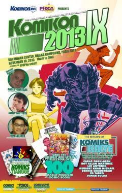 Komikon 2013 poster
